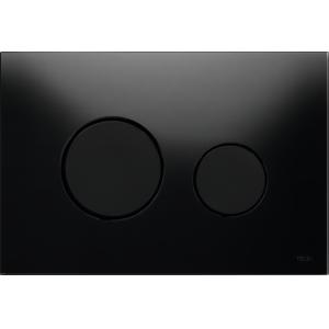 Кнопка смыва TECE Loop 9240657 черное стекло, кнопки черные