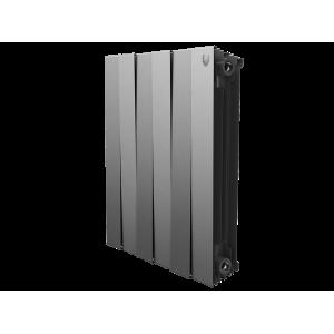 Радиатор Royal Thermo PianoForte 500 Silver Satin - 4 секц.