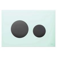 Кнопка смыва TECE Loop Modular 9240667 кнопка черная, стекло на выбор