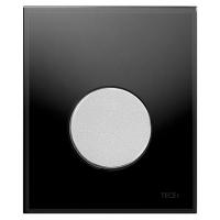 Кнопка смыва TECE Loop Urinal 9242655 черное стекло, кнопка хром матовый