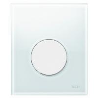 Кнопка смыва TECE Loop Urinal 9242650 белое стекло