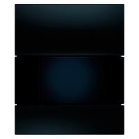 Кнопка смыва TECE Square Urinal 9242809 черное стекло. кнопка черная