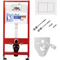 Система инсталляции для унитазов TECE TECEnow K400400 4 в 1 с кнопкой смыва