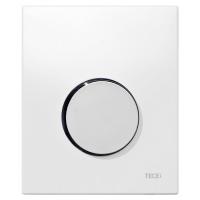 Кнопка смыва TECE Loop Urinal 9242627 белая, кнопка хром