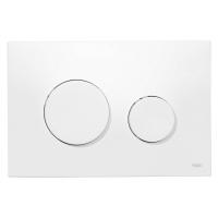 Кнопка смыва TECE Loop 9240640 белая антибактериальная