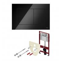 Система инсталляции для унитазов TECE Base K400403 с кнопкой смыва