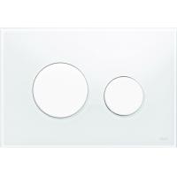 Кнопка смыва TECE Loop 9240650 белое стекло